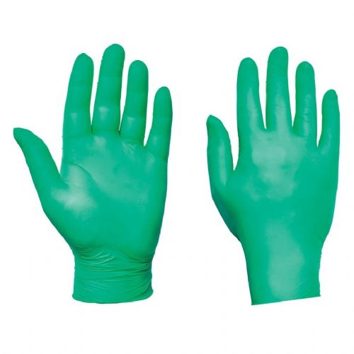 Supertouch Green Ultra Nitrile Powder Free Gloves - 2000 Pack